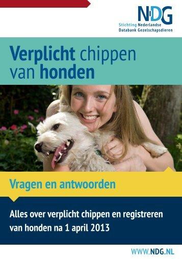 Verplicht chippen van honden