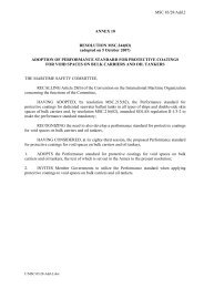 MSC 83/28/Add.2 ANNEX 10 RESOLUTION MSC.244(83) (adopted ...