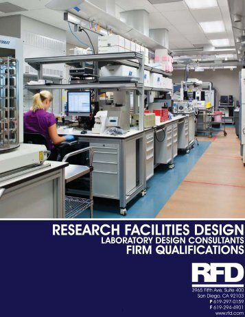 Low Resolution Firm Brochure - Research Facilities Design