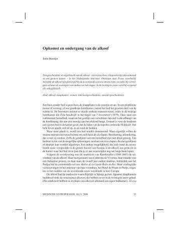 volledige tekst - Tijdschrift Medische Antropologie