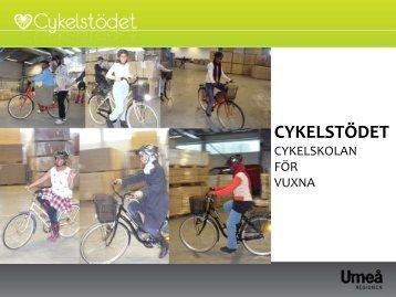 Att cykla