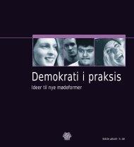 Demokrati i praksis - Dansk Ungdoms Fællesråd