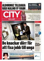 CityMalmö_23apr_Uppsök Malmö - Uppstart Malmö