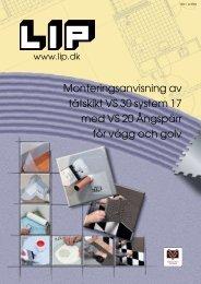 Monteringsanvisning av tätskikt VS 30 system 17 ... - Plattmetropolen