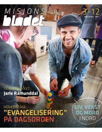 Misjonsbladet 3-2012. - Misjonsforbundet