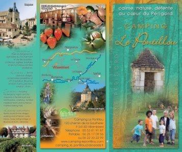 Télécharger notre brochure - Camping Le Pontillou