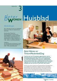 Huisblad September 2008 - Beter Wonen Almelo
