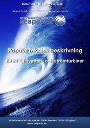 Ladda hem vår Populär tekniska beskrivning (PDF) - EXIM ...