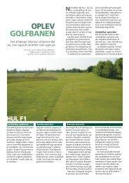 GOLFBANEN OPLEV - Turfgrass