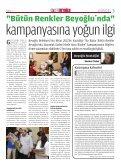 Kefken kampımız rekora koşuyor... - Beyoğlu Belediyesi - Page 3