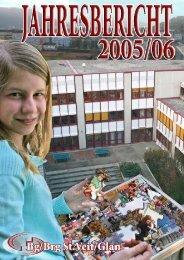 Jahresbericht 2005/06 - BgBrg St. Veit