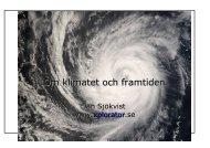 Klimat bildspel - Xplorator