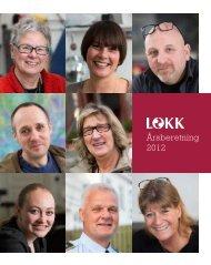 Årsberetning 2012 - LOKK