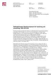 Delbetänkandet Skatteincitament för forskning och utveckling ... - LO