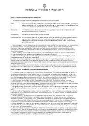 Algemene Voorwaarden - Nederlandse LED Groothandel