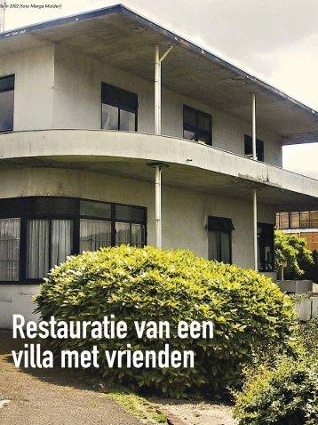 Restauratie van een villa met vrienden - Vrienden van het ...