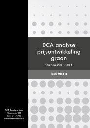 DCA Analyse Granenmarkten 2013 (PDF) - Akkerwijzer.nl