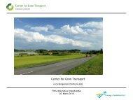 Info omkring puljer fra Center for Grøn Transport (CGT)