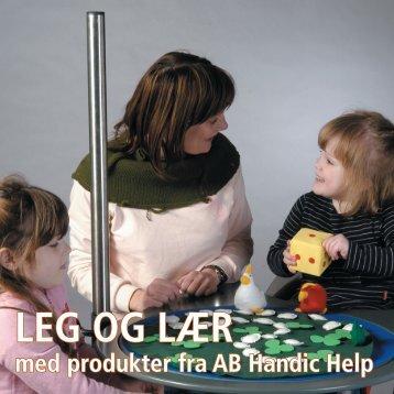 LEG OG LÆR med produkter fra AB Handic Help