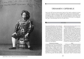 Last ned PDF av hele artikkelen - Rundt om Drammen