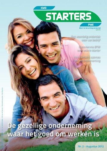 De gezellige onderneming waar het goed om ... - Starters Magazine