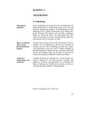 KAPITEL I TRAFIKSTØJ - De Økonomiske Råd