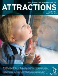 April , 2013 Attractions (PDF) - the St. Paul JCC