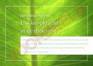 Voorbeeld brochure Koopkracht - Bureau D & O