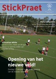 Opening van het nieuwe veld! - USHC