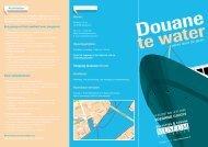 Douane te water 2008 (613 kB PDF) - Belasting & douane museum