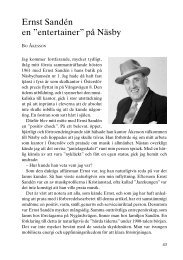 """Ernst Sandén en """"entertainer"""" på Näsby - Föreningen Gamla ..."""