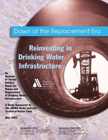 Reinvesting in Drinking Water Infrastructure