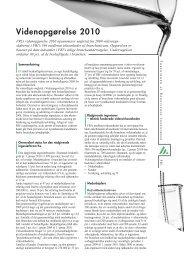 Videnopgørelse 2010 - Foreningen af Rådgivende Ingeniører F.R.I.