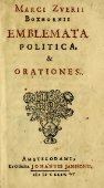 Emblemata politica & Orationes. Ex officina - Page 3