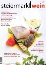 Steiermarkwein Ausgabe 2 - Herbst 2009