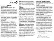 NEDERLANDS Integra™ Bipolair Pincet Belangrijke Informatie ...