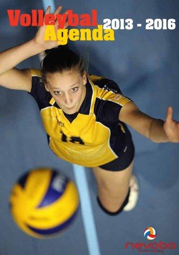 Volleybalagenda 2013-2016