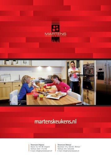 Bekijk onze folder - Martens Keukens & Haarden