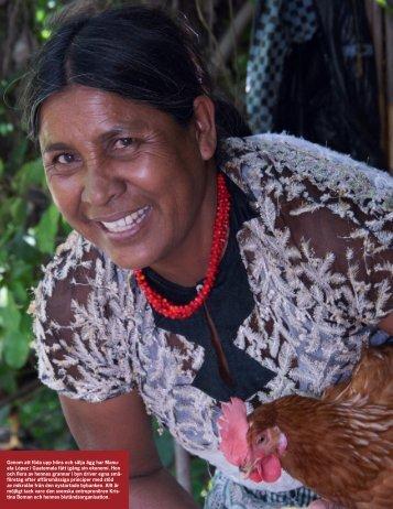 Genom att föda upp höns och sälja ägg har Manu ... - Global Reporting
