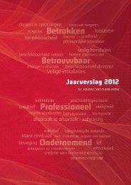 Jaarverslag 2012 - Westland Infra