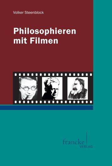 Philosophieren mit Filmen - im Shop von Narr Francke Attempto