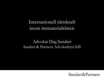 Internationell rättskraft inom immaterialrätten - Advokatsamfundet