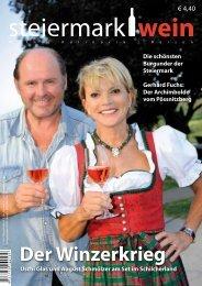 Steiermarkwein Ausgabe 6 - Herbst 2010