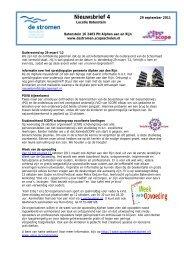 Locatie Batenstein 29 sept 2011 - SCOPE Scholengroep