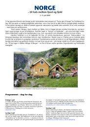 NORGE – til fods mellem fjord og fjeld - frimodt