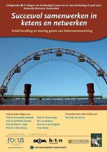 uitnodiging - Ketens & Netwerken
