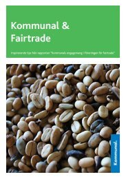 Kommunal & Fairtrade