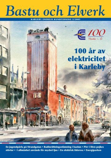 Bastu och Elverk - Kokkolan Energia