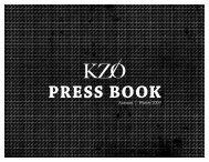 PRESS BOOK - KZO