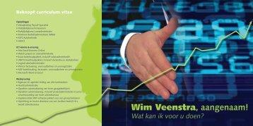 Wim Veenstra, aangenaam! - DeVe Administratie